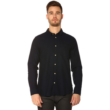 Vêtements Femme Chemises / Chemisiers Jack & Jones Chemise HOMME - VERNA SHIRT LS PLAIN_NAVY BLAZER/SLIM FIT Bleu