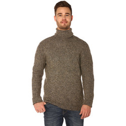 Vêtements Femme Pulls Jack & Jones Pull, Gilet HOMME - RENO KNIT TURTLE NECK_GREY MEL/KNIT FIT Gris