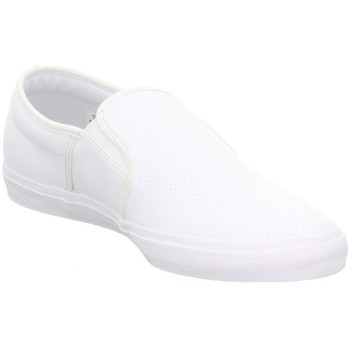 Chaussures Homme Slips on Lacoste Gazon BL 1 Blanc