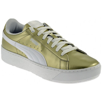 Chaussures Femme Baskets basses Puma VIKKY PLATFORM METALLIC Baskets basses