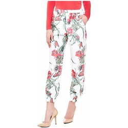 Vêtements Femme Leggings Guess Jogging Hella Havana Flower White Blanc