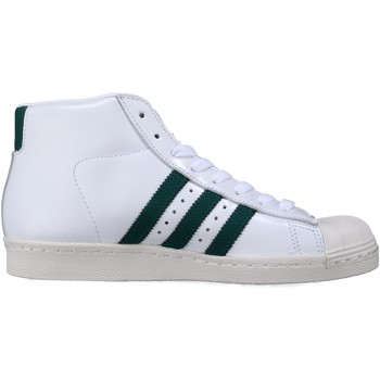 Chaussures Homme Baskets montantes adidas Originals Pro Model 80s Bb2248 Blanc/Vert Blanc