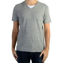 Vêtements Homme T-shirts manches courtes Kaporal Tee Shirt Kaporal Ciao Light Grey Melanged Gris