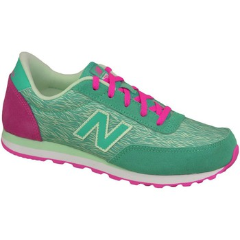 Chaussures Enfant Baskets mode New Balance KL501TPY Green
