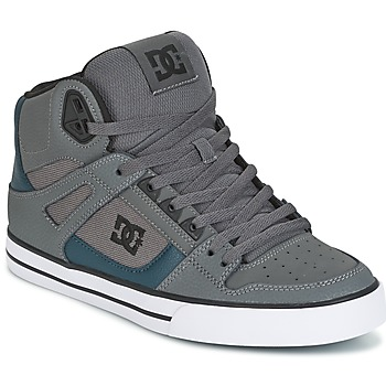 Chaussures Homme Baskets montantes DC Shoes SPARTAN HIGH WC Gris / Vert