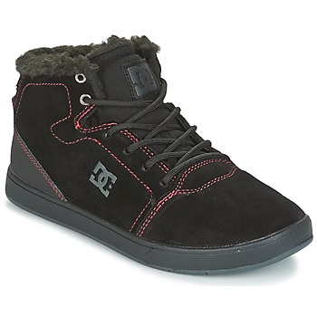 Chaussures Enfant Baskets montantes DC Shoes CRISIS HIGH WNT Noir / Rouge / Blanc