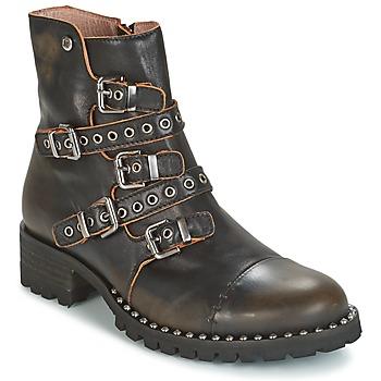 Chaussures Femme Boots Dkode UMBRIA-BLACK-001 Noir