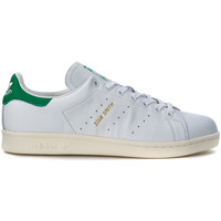 Chaussures Homme Baskets mode adidas Originals Basket  Stan Smith en peau blanche Blanc