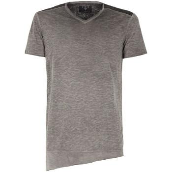 Vêtements Homme T-shirts manches courtes Guess Tee-Shirt Leandro Rn SS Knit Gris Gris