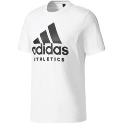 Vêtements Homme T-shirts manches courtes adidas Performance T-shirt  Sid Branded blanc