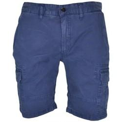 Vêtements Homme Shorts / Bermudas Tommy Hilfiger Bermuda cargo Tommy Hilfiger bleu marine pour homme Bleu