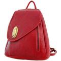 Sacs Femme Sacs à dos Katana Sac a dos cuir de Vachette K 322016 Rouge
