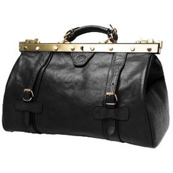 Sacs Femme Sacs de voyage Katana Sac diligence en cuir K 8253 Noir
