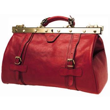 Sacs Femme Sacs de voyage Katana Sac diligence en cuir K 8253 Rouge