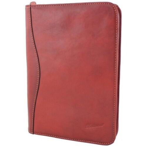 Sacs Homme Porte-Documents / Serviettes Katana Conferencier cuir de Vachette pleine fleur  K 6894 - A5 Rouge