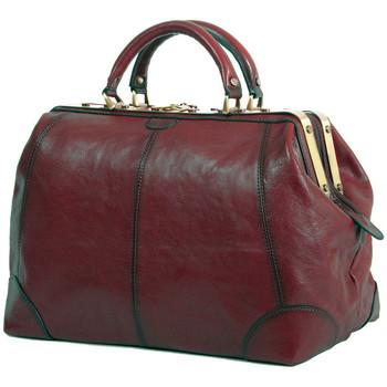 Sacs Femme Sacs porté main Katana Sac diligence cuir de Vachette collet K 1152 Marron