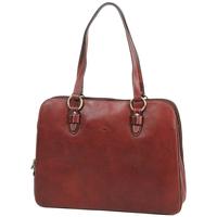 Sacs Femme Sacs porté main Katana Sac shopping en cuir de Vachette gras K 32596 Marron