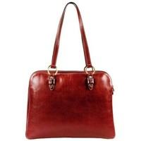 Sacs Femme Cabas / Sacs shopping Katana Sac shopping en cuir de Vachette gras K 32596 Rouge