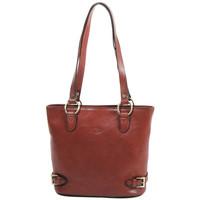 Sacs Femme Cabas / Sacs shopping Katana Sac shopping en cuir de Vachette collet K 82150 Marron