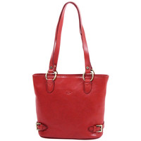 Sacs Femme Cabas / Sacs shopping Katana Sac shopping en cuir de Vachette collet K 82150 Rouge