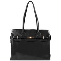 Sacs Femme Cabas / Sacs shopping Katana Sac Shopping En Cuir De Vachette Collet K 82529 Noir