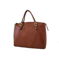 Sacs Femme Cabas / Sacs shopping Katana Sac Shopping En Cuir De Vachette Collet K 82534 Marron