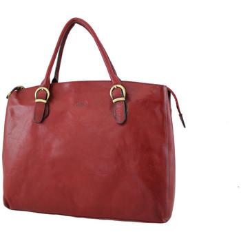 Sacs Femme Cabas / Sacs shopping Katana Sac shopping en cuir de Vachette collet K 82534 Rouge