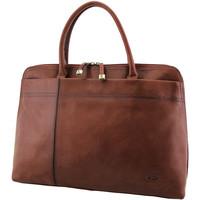 Sacs Femme Cabas / Sacs shopping Katana Sac shopping en cuir de Vachette collet K 82563 Marron