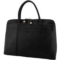 Sacs Femme Cabas / Sacs shopping Katana Sac shopping en cuir de Vachette collet K 82563 Noir