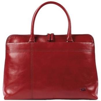 Sacs Femme Cabas / Sacs shopping Katana Sac shopping en cuir de Vachette collet K 82563 Rouge