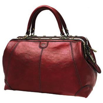 Sacs Femme Sacs de voyage Katana Sac de voyage Diligence Cuir de Vachette Collet K 1150 Rouge