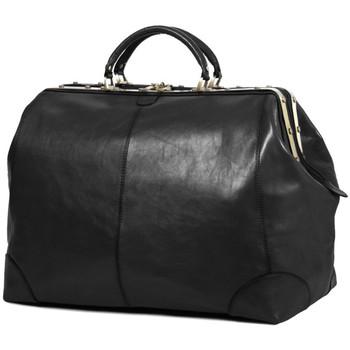 Sacs Femme Sacs de voyage Katana Sac de voyage Diligence Cuir de Vachette Collet K 1153 Noir