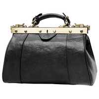 Sacs Femme Sacs porté main Katana Sac Diligence Cuir de Vachette Collet K 8250 Noir
