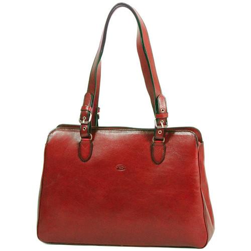 Sacs Femme Cabas / Sacs shopping Katana Sac shopping en cuir de Vachette collet K 82365 Marron