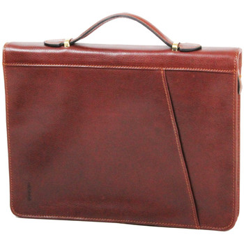 Sacs Homme Porte-Documents / Serviettes Katana Conferencier en cuir de vachette gras K 36820 Marron