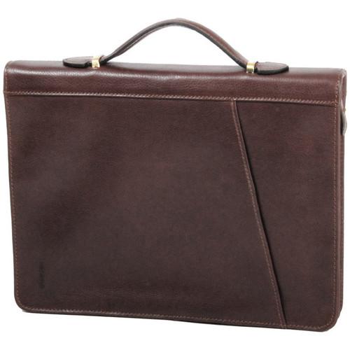 Sacs Homme Porte-Documents / Serviettes Katana Conferencier en cuir de vachette gras K 36820 Chocolat