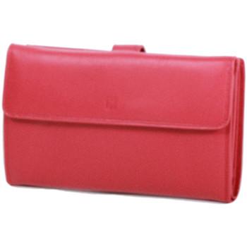 Sacs Femme Portefeuilles Gerard Henon Compagnon tout-en-un cuir de Vachette souple GH 33522 Rouge