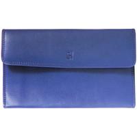 Sacs Femme Portefeuilles Gerard Henon Compagnon tout-en-un cuir de Vachette souple GH 33522 Bleu