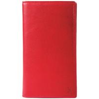 Sacs Femme Portefeuilles Gerard Henon Compagnon tout-en-un cuir de Vachette souple GH 33521 Rouge