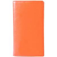 Sacs Femme Portefeuilles Gerard Henon Compagnon tout-en-un cuir de Vachette souple GH 33521 Orange