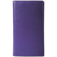 Sacs Femme Portefeuilles Gerard Henon Compagnon tout-en-un cuir de Vachette souple GH 33521 Violet
