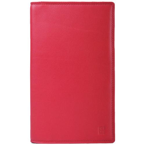Sacs Femme Portefeuilles Gerard Henon Porte-cartes Cuir de Vachette Lisse Softline GH 33525 Rouge
