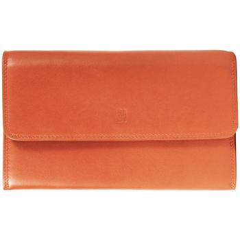 Sacs Femme Portefeuilles Gerard Henon Compagnon tout-en-un cuir de Vachette souple GH 33523 Orange