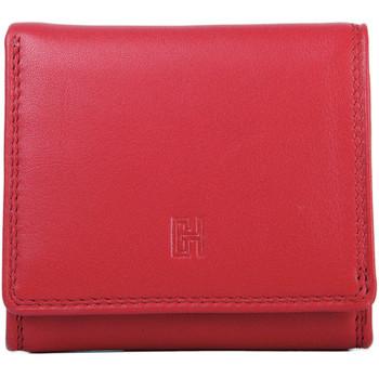 Sacs Femme Portefeuilles Gerard Henon Porte-cartes Cuir de Vachette Lisse Softline GH 33534 Rouge