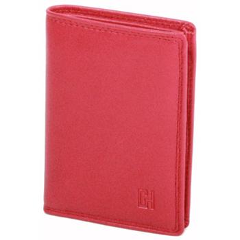 Sacs Femme Portefeuilles Gerard Henon Porte-cartes Cuir de Vachette Lisse Softline GH 33537 Rouge