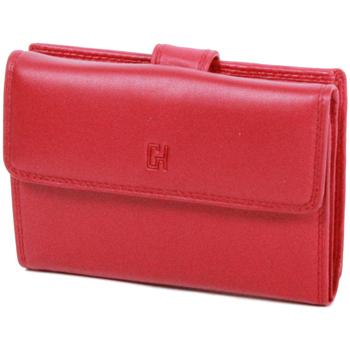 Sacs Femme Portefeuilles Gerard Henon Porte-cartes Softline Cuir de Vachette Lisse GH 33552 Rouge