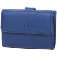 Sacs Femme Portefeuilles Gerard Henon Porte-cartes Softline Cuir de Vachette Lisse GH 33552 Bleu