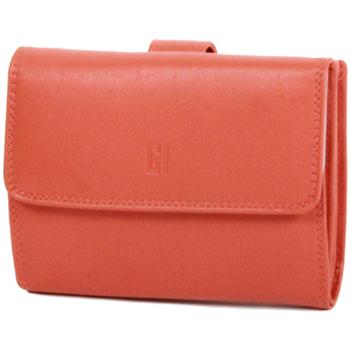 Sacs Femme Portefeuilles Gerard Henon Porte-cartes Softline Cuir de Vachette Lisse GH 33552 Orange