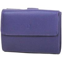 Sacs Femme Portefeuilles Gerard Henon Porte-cartes Softline Cuir de Vachette Lisse GH 33552 Violet
