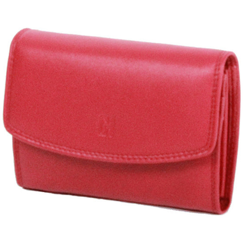 Sacs Femme Portefeuilles Gerard Henon Porte-cartes Softline Cuir de Vachette Lisse GH 33554 Rouge
